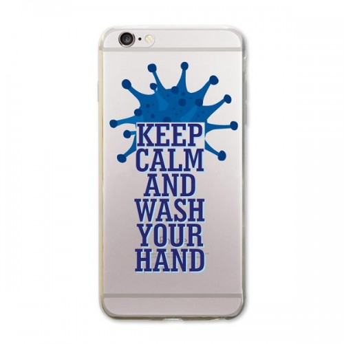 Keep Calm and Wash Your Hand iPhone Kapağı